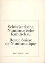 Second hand books Revue suisse de numismatique. 1988