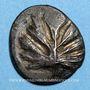 Monnaies Sicile. Sélinonte. Didrachme, vers 515-470 av. J-C