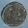 Stolen objects Empire byzantin. Théophile (829-842). 1/2 follis. Constantinople, 830/831-842