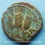 Stolen objects Judée, Hérodote Agrippa (37-44), petit bronze. R/: 3 épis