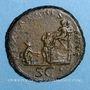 Monnaies Trajan (98-117). Sesterce. Rome, 116. R/: Trajan