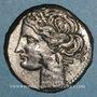 Münzen Zeugitane. Carthage. 1 1/2 shekel de billon. Carthage, 230-220 av. J-C